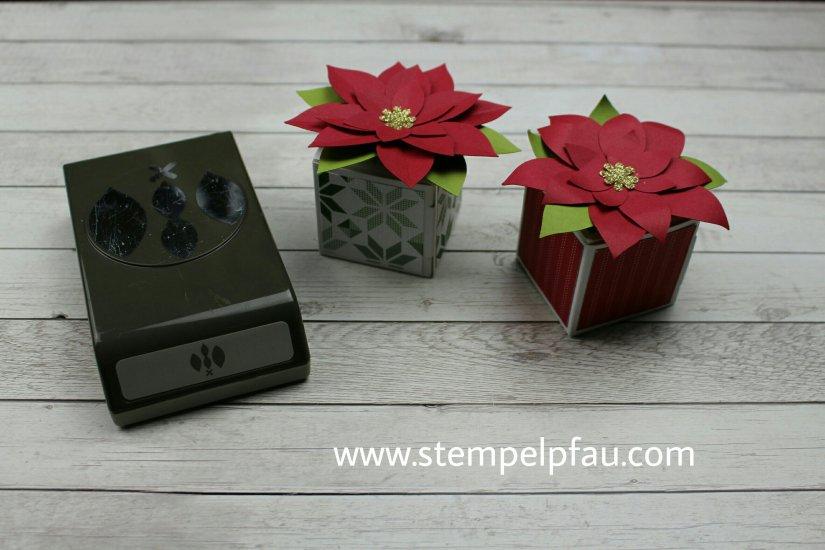 Elementstanze Festliche Blüte von Stampin' Up!, Weihnachtssterne sind einfache toll.