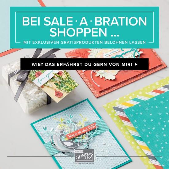 Der Frühjahr-/Sommerkatalog ist gültig und die Sale-a-Bration 2018 hat begonnen. Hole dir jetzt die tollen Gratisprodukte.
