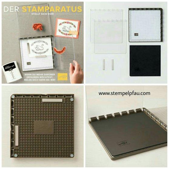 Der Stamparatus, das neue Stempeltool von Stampin' Up!