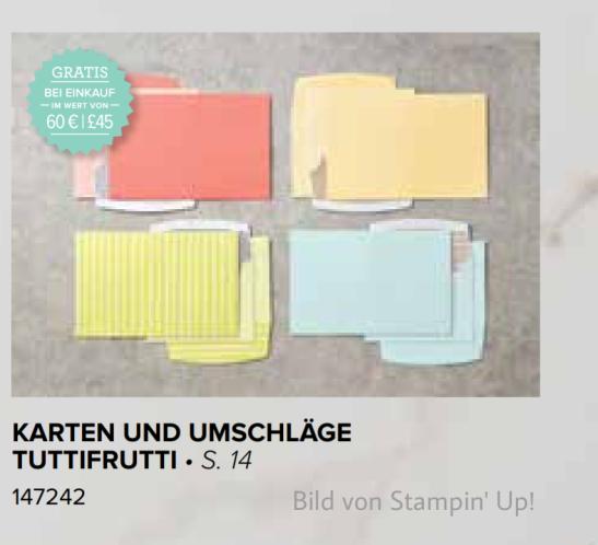 Lieblings-Sale-a-Bration Produkt 2018. Erlebe die Welt von Stampin' Up! mit dem Stempelpfau.