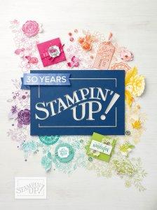 Der neue Jahreshauptkatalog ist da. Shoppe deine Stampin' Up! Produkte.