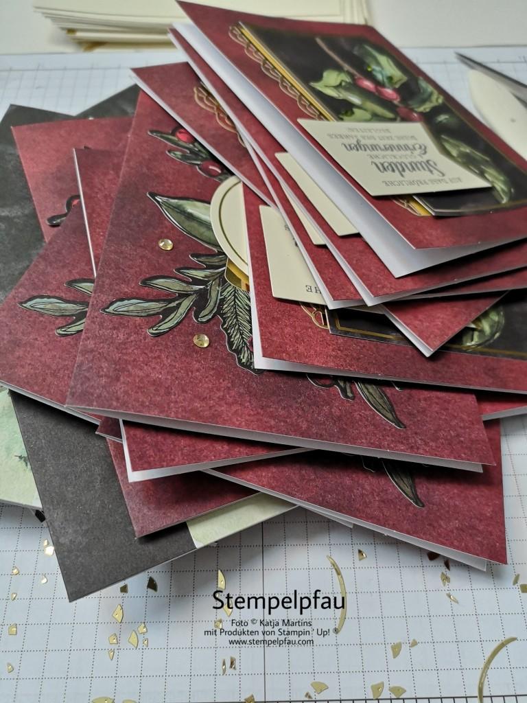 Projektset Zauber von Weihnachten. Tolle Karten mit Stampin' Up! kreieren.