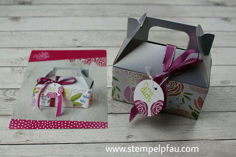 Silberne Box aus dem neuen Frühjahr-/ Sommerkatalog von Stampin' Up!