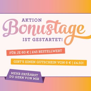 Bonustage Aktion von Stampin' Up!