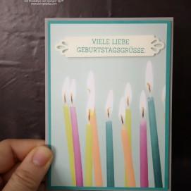 Aufträge sind toll. Designerpapier Perfekte Party von1 Stampin' Up!, Leider nicht mehr erhältlich, aber wunderschön.