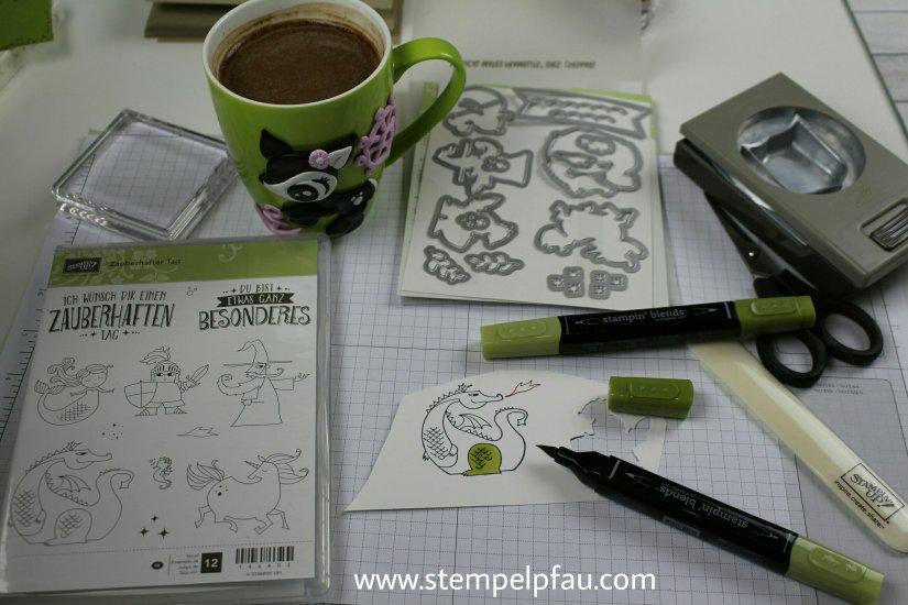 Zauberhafter Tag mit Stampin' Up! und einer Tasse von Kleine Fimorella