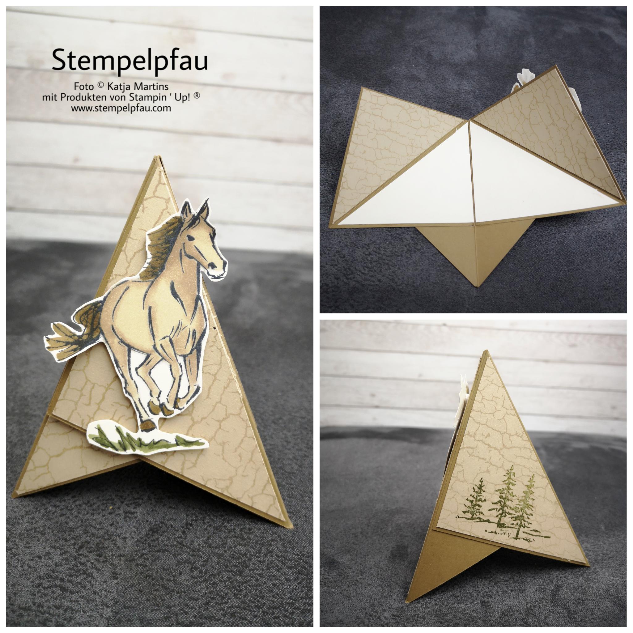 Tippikarte mit Pferd von Stampin' Upl