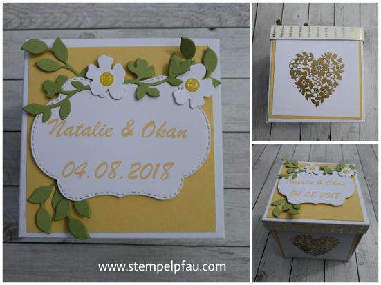 Hochzeitsbox - Auftragsarbeit - Stampin' Up!