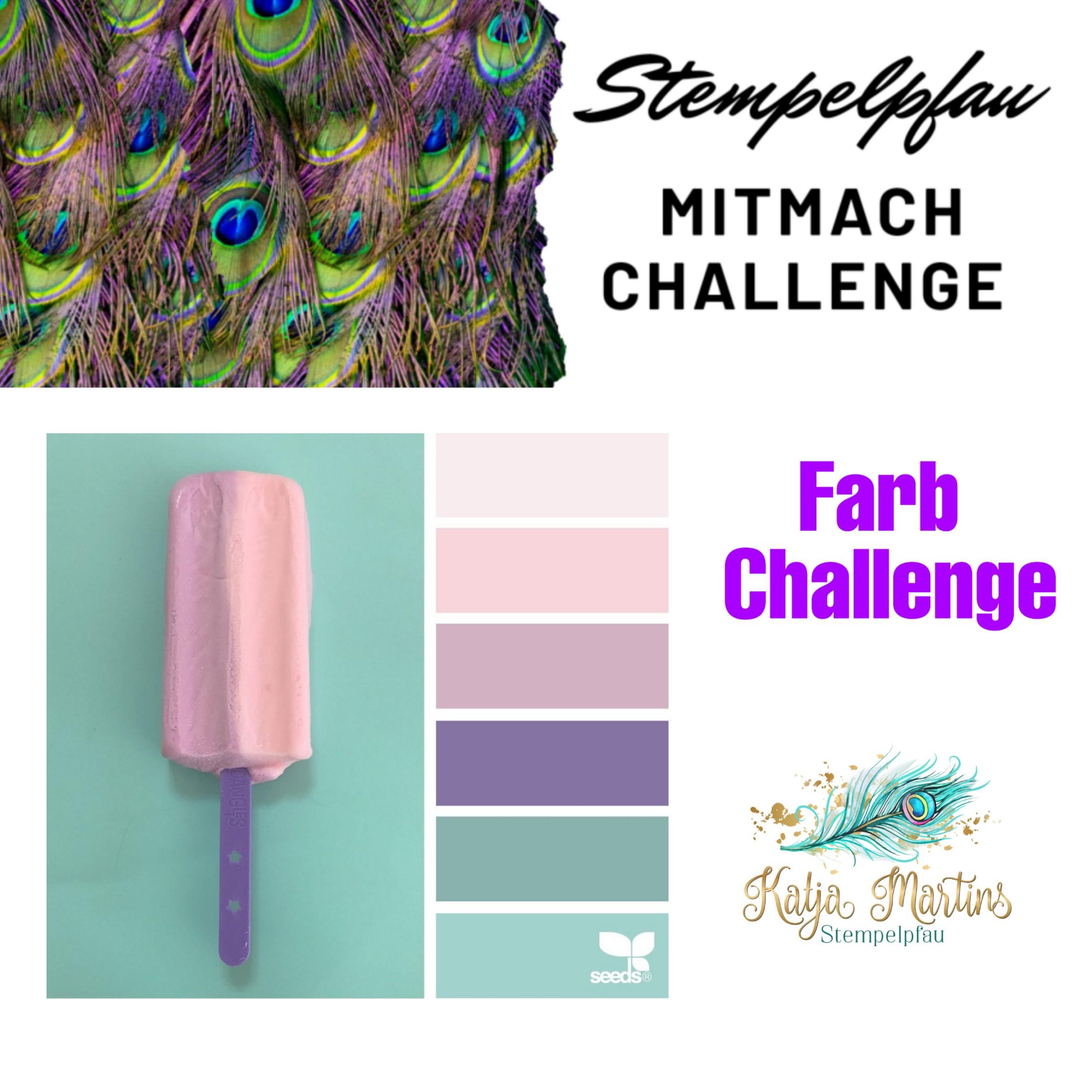 Mitmach Challenge August vom Stempelpfau