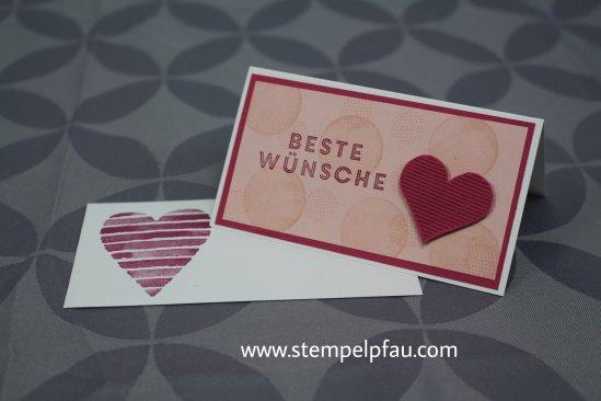 kleine Grußkarten mit Umschlag aus dem Frühjahr-/Sommerkatalog von Stampin' Up!