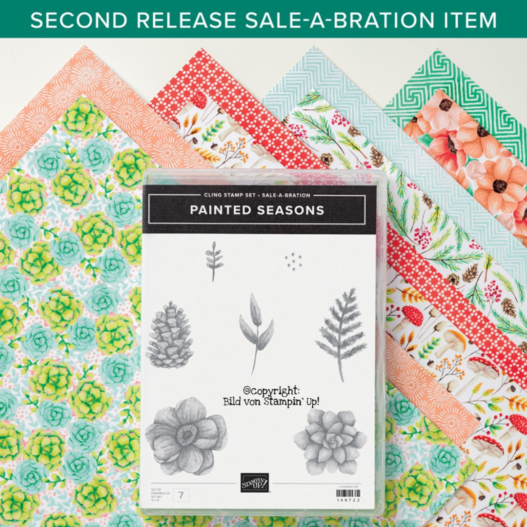 Sale-a-Bration Prämie Produktpaket Painted Seasons von Stampin' Up!