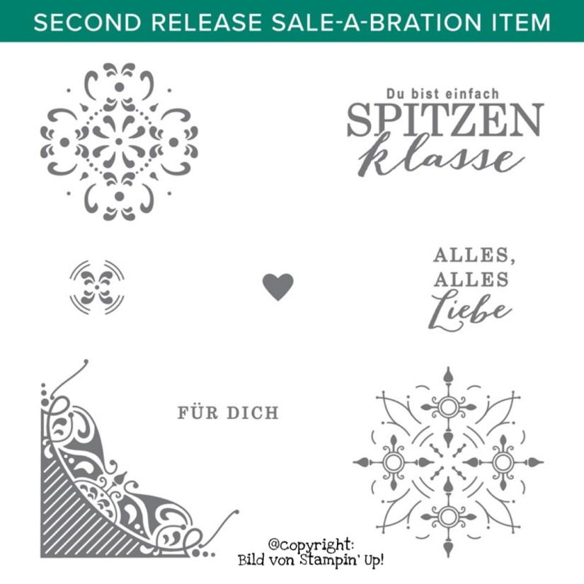 Sale-a-Bration Prämie Vollendet Verziert Stempelset von Stampin' Up!