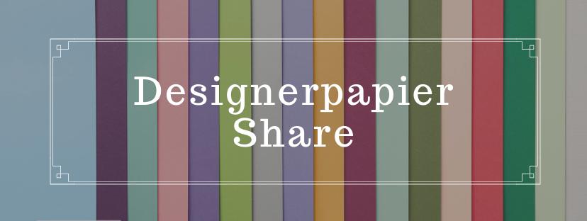 Designerpapier Share vom Stempelpfau - Stampin' Up!