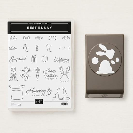 Produktpaket Häschen Stampin' Up! fast ausverkauft