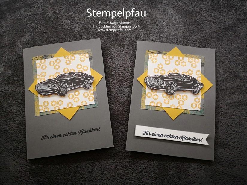 Karten mit der Produktreihe In der Werkstatt von Stampin' Up!