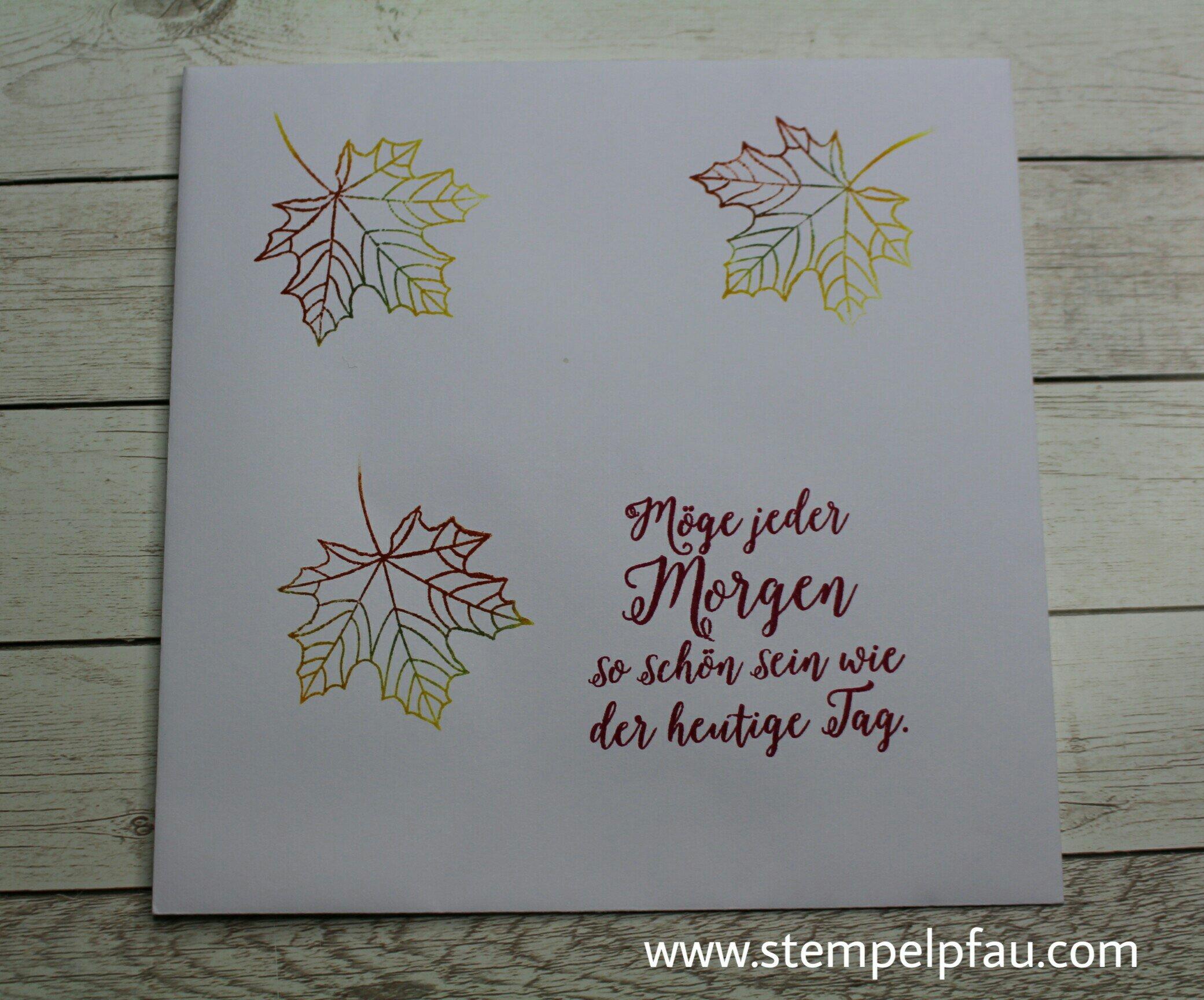 Geburtstagskarte mit Schmetterlingen. - Fadengrafik trifft auf Stampin' Up!