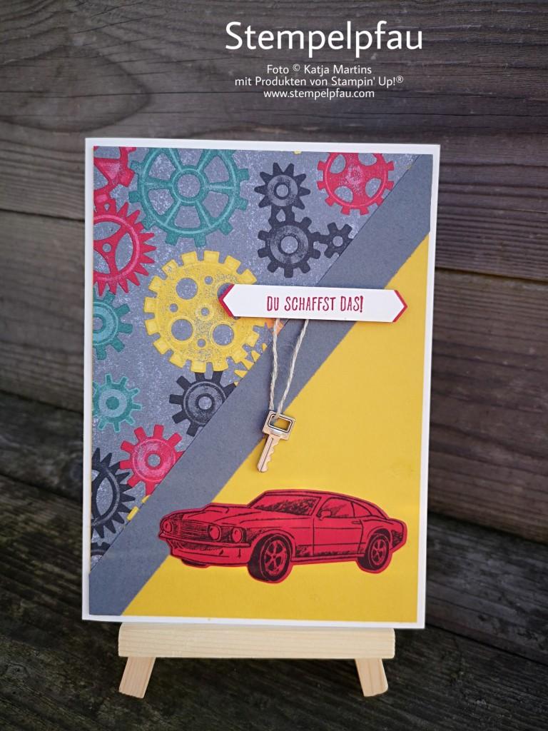 One Sheet Wonder Karte mit dem Produktpaket In der Werkstatt von Stampin' Up!