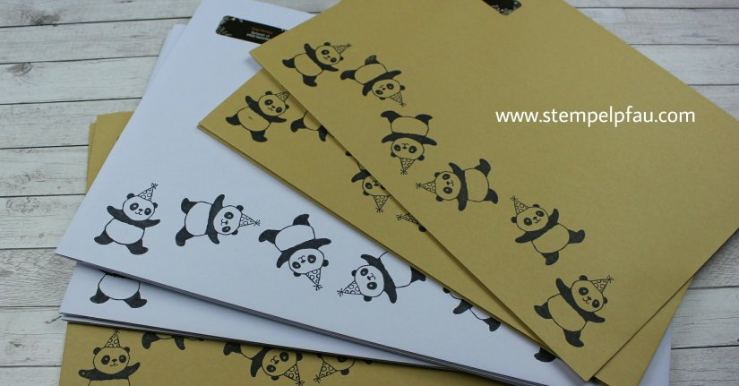 Party-Pandas Sale-a-Bration Stampinup
