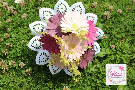 Blumenstrauß Gänseblümchen
