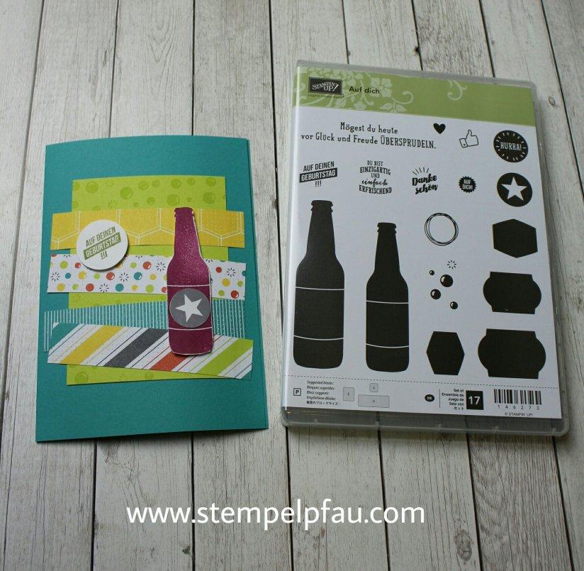 Partyeinladungen perfekt mit dem Set gestalten. Neue Produkte von Stampin' Up!