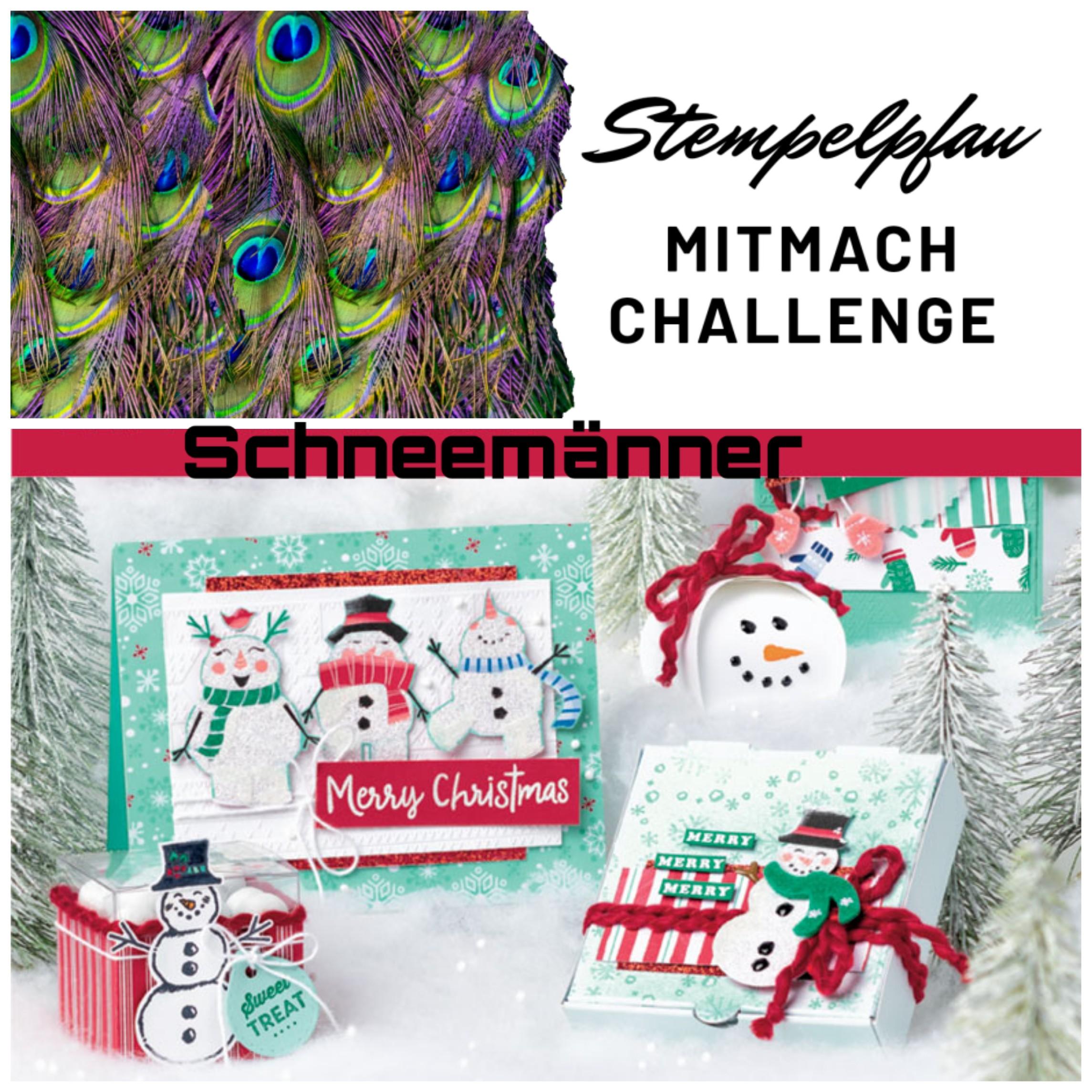 Mitmach Challenge November vom Stempelpfau